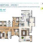 Acqua Galleria Fiori Borghese Anfora Cobertura 245m2 Piso Inferior 1