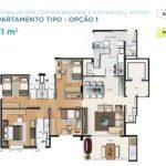 Acqua Galleria Fiori Borghese Anfora Planta 131m2 1