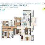 Acqua Galleria Fiori Borghese Anfora Planta 131m2 2