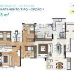 Acqua Galleria Nettuno Planta 153m2 1