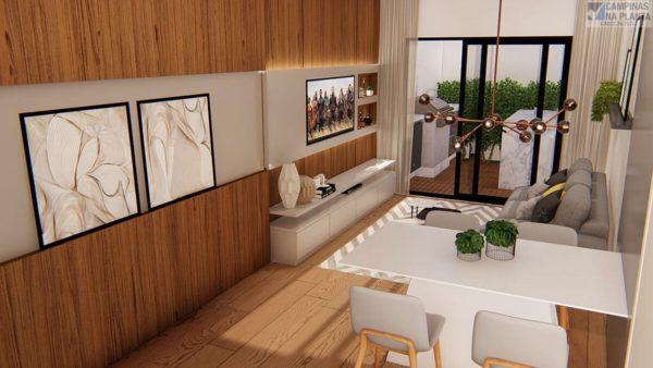 Imagem ilustrativa da sala de estar