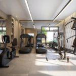 Fitness e sala de pilates