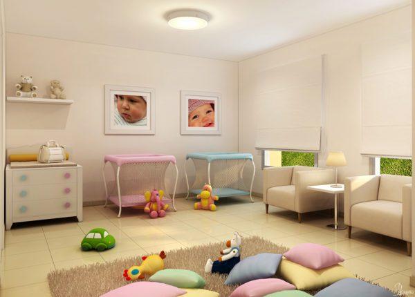 apartamento venda campinas residencial allegria perspectiva ilustrada baby room