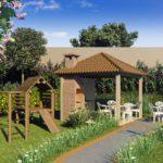apartamento venda campinas residencial allegria perspectiva ilustrada churrasqueira