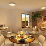 apartamento venda campinas residencial allegria perspectiva ilustrada salão de festas