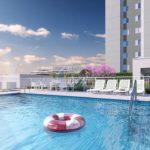 piscina do lançamento arbo condomínio parque da direcional engenharia