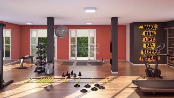 espaço fitness do Arbo Condomínio Parque lançamento no Panamby Campinas