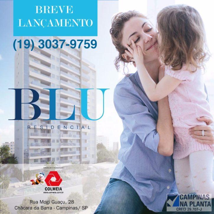 blue residencial apartamento na planta campinas breve lançamento