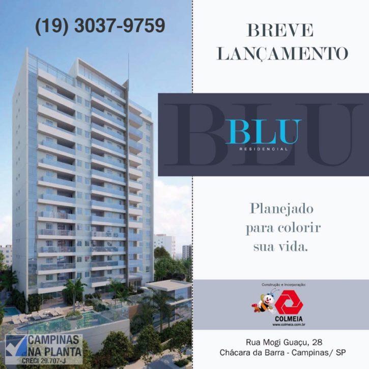 blu residencial chacara da barra campinas breve lançamento