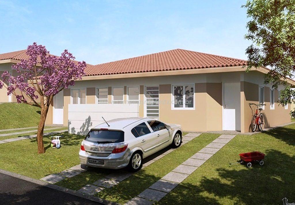 casas viva vista sumaré fachada 3 quartos