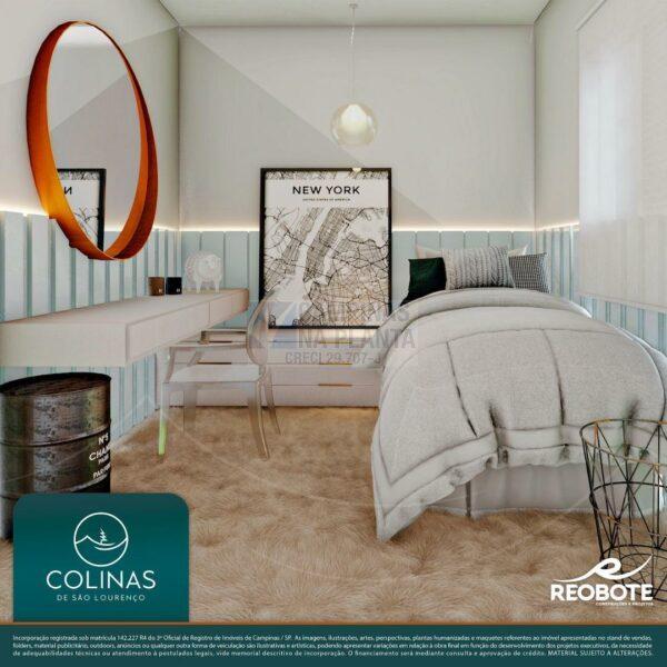 colinas de são lourenço perspectiva ilustrada do dormitório