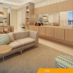 Living Sala de Estar apartamento tipo do DON Cambuí Apartamentos à venda