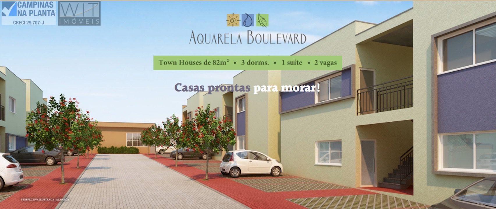 aquarela boulevard casas prontas para morar em campinas jd. novo campos elíseos