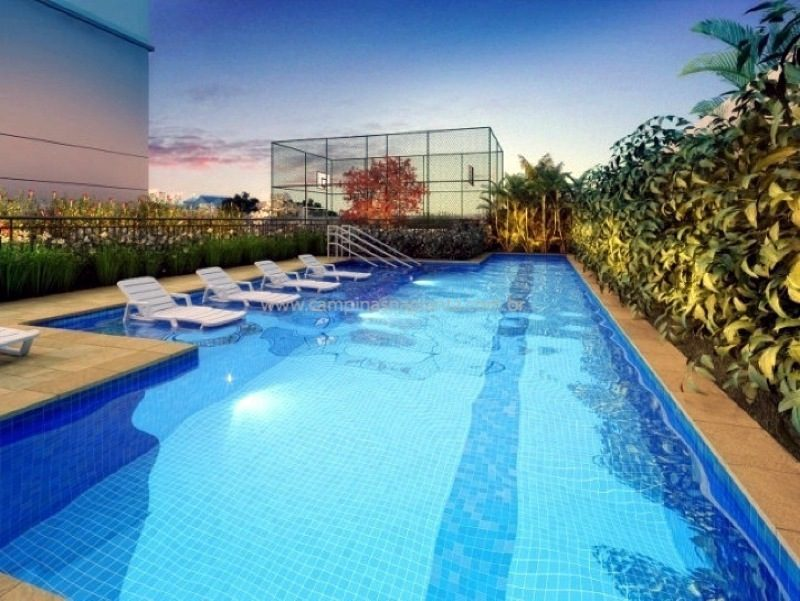 Perspectiva ilustrada da piscina do Fatto Momentos