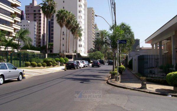 Rua Maria Monteiro, próxima ao breve lançamento no Cambuí da CRB Construtora