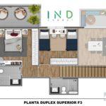 Planta Duplex Pav. Superior do Ind