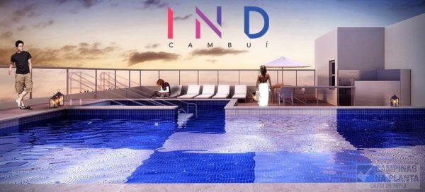 Piscina c/ Sky View do IND Cambui