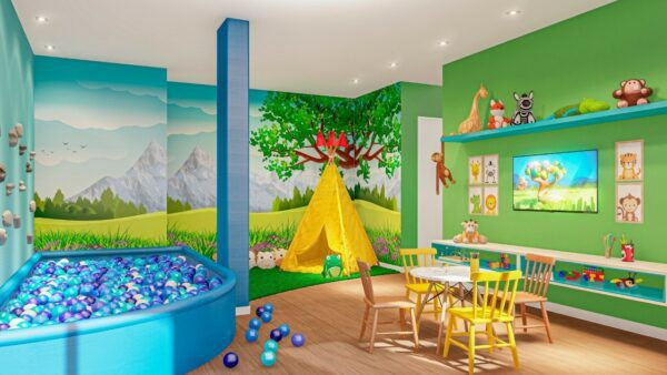 Inside Residence Brinquedoteca