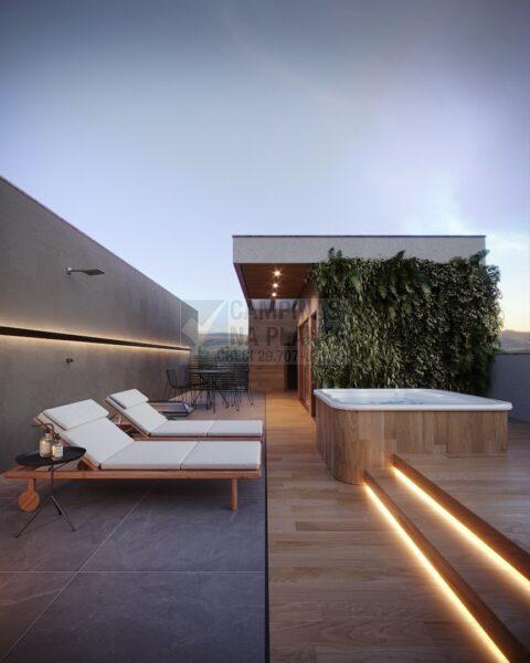 Lagoa Sky Houses Lancamento Casas Taquaral Rooftop