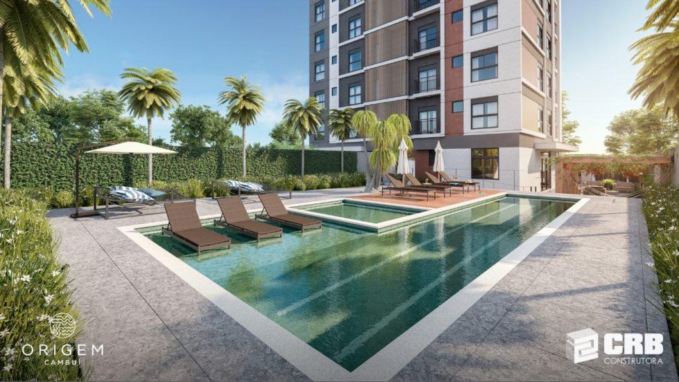 Lançamento Origem Cambuí Apartamentos na Planta Próximo Centro Convivência