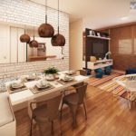 Up Campinas Living 3 Dorm
