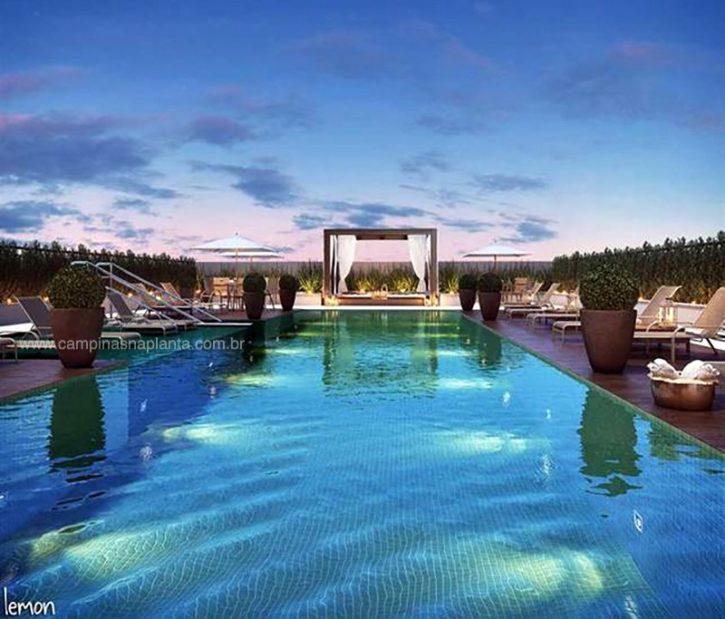 living baroneza taquaral piscina