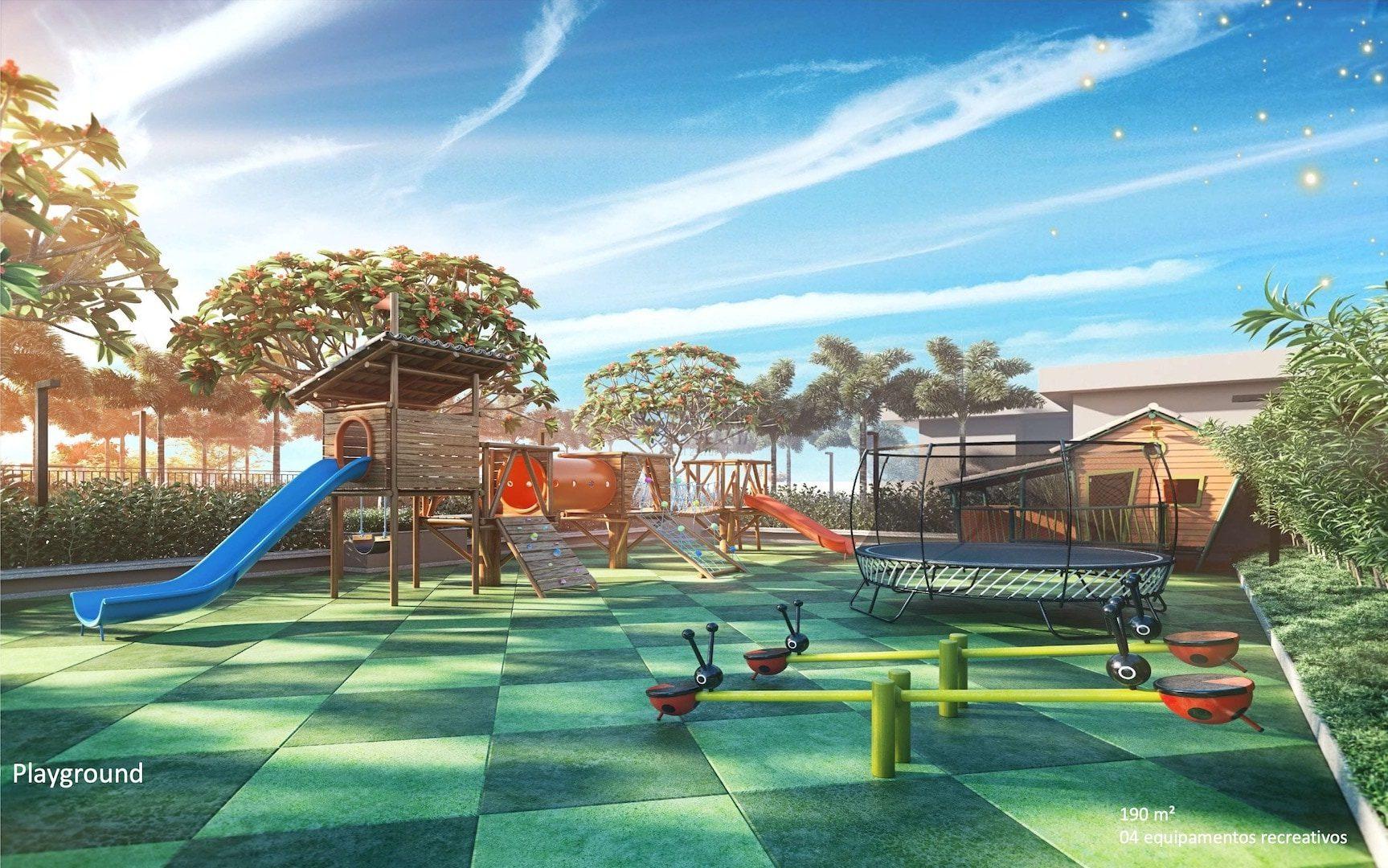 Living Grand Wish Nova Campinas Playground