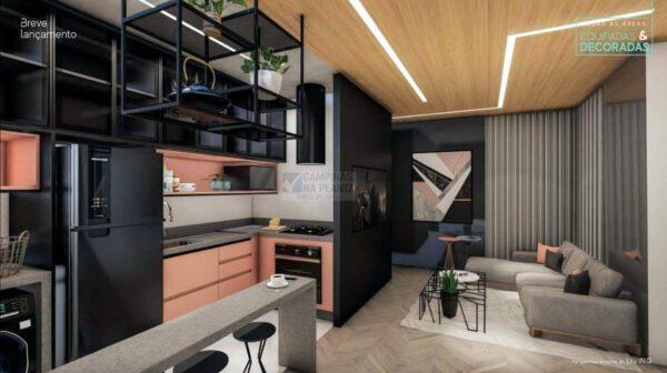 now taquaral living apartamento 54 m2