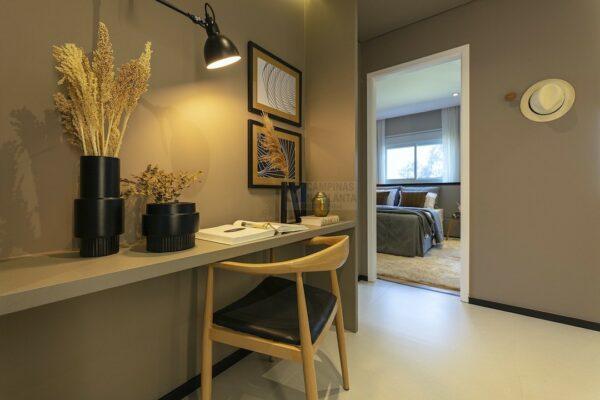 praca guanabara apartamento decorado office 1