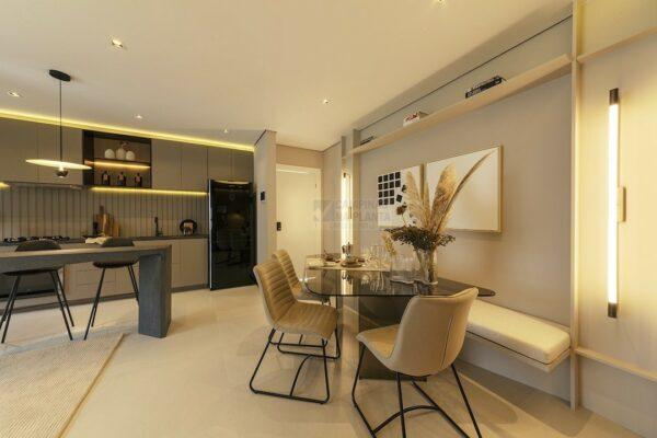 praca guanabara apartamento decorado sala de jantar 1