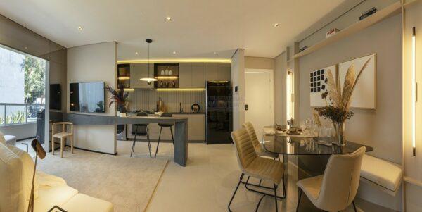 praca guanabara apartamento decorado sala de jantar 2