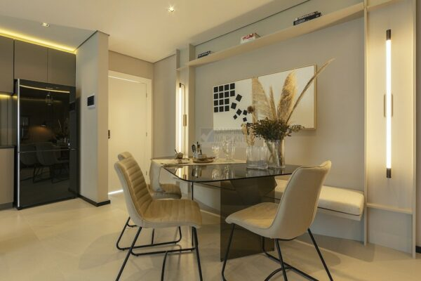 praca guanabara apartamento decorado sala de jantar 3