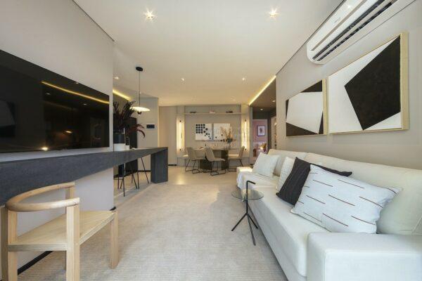 praca guanabara apartamento decorado sala estar 1