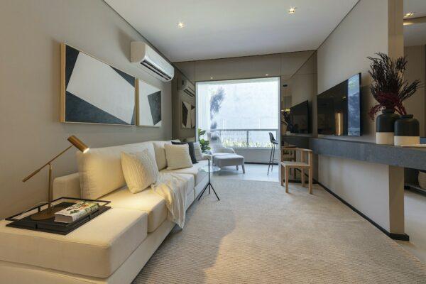 praca guanabara apartamento decorado sala estar 2