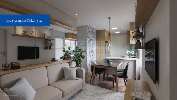 Residencial Bosque Dos Ipes Sumare Apartamento Decorado Sala