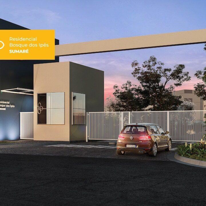 Residencial Bosque Dos Ipes Breve Lançamento de apartamentos na planta em Sumaré