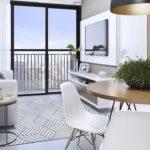 Sala do apartamento residencial rubem alves
