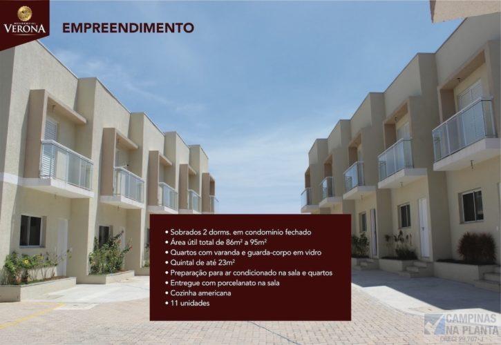 Residencial Verona Casas Prontas Condomínio Fechado Sobrados no Jardim Amoreiras