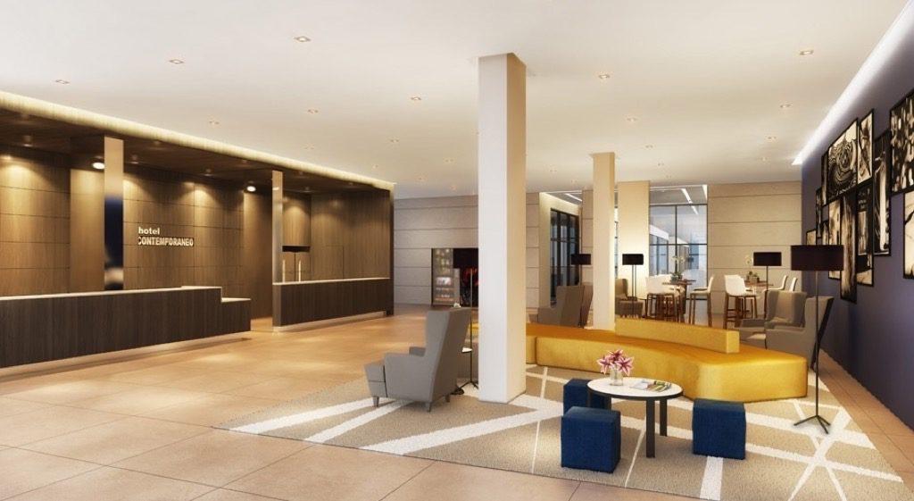 Pé-dreito Duplo Royal Campinas Hotel Contemporâneo