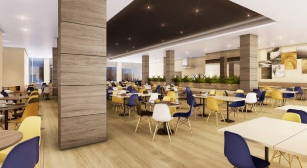 Restaurante do Hotel Contemporâneo Royal Campinas