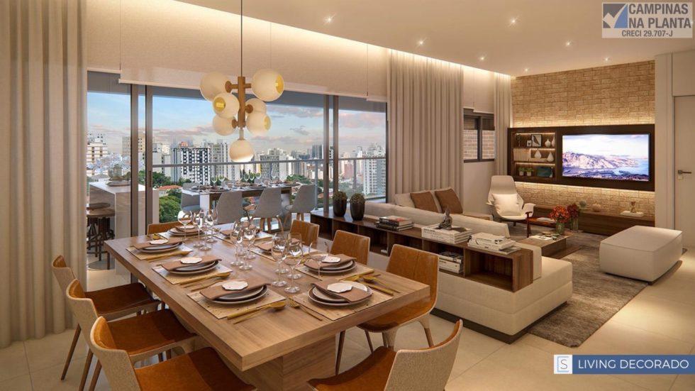 Sartoria Taquaral Living Apartamento Decorado 155 M2