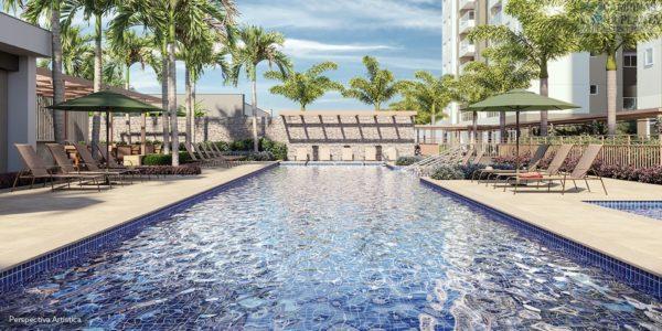 piscina do breve lançamento splendor patriani
