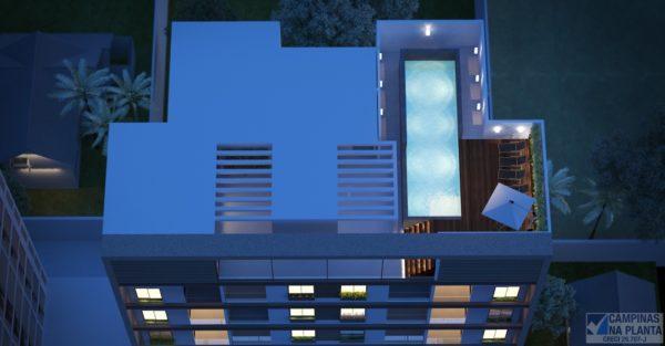 Rooftop do Studio Morada Guanabara Breve Lançamento Campinas