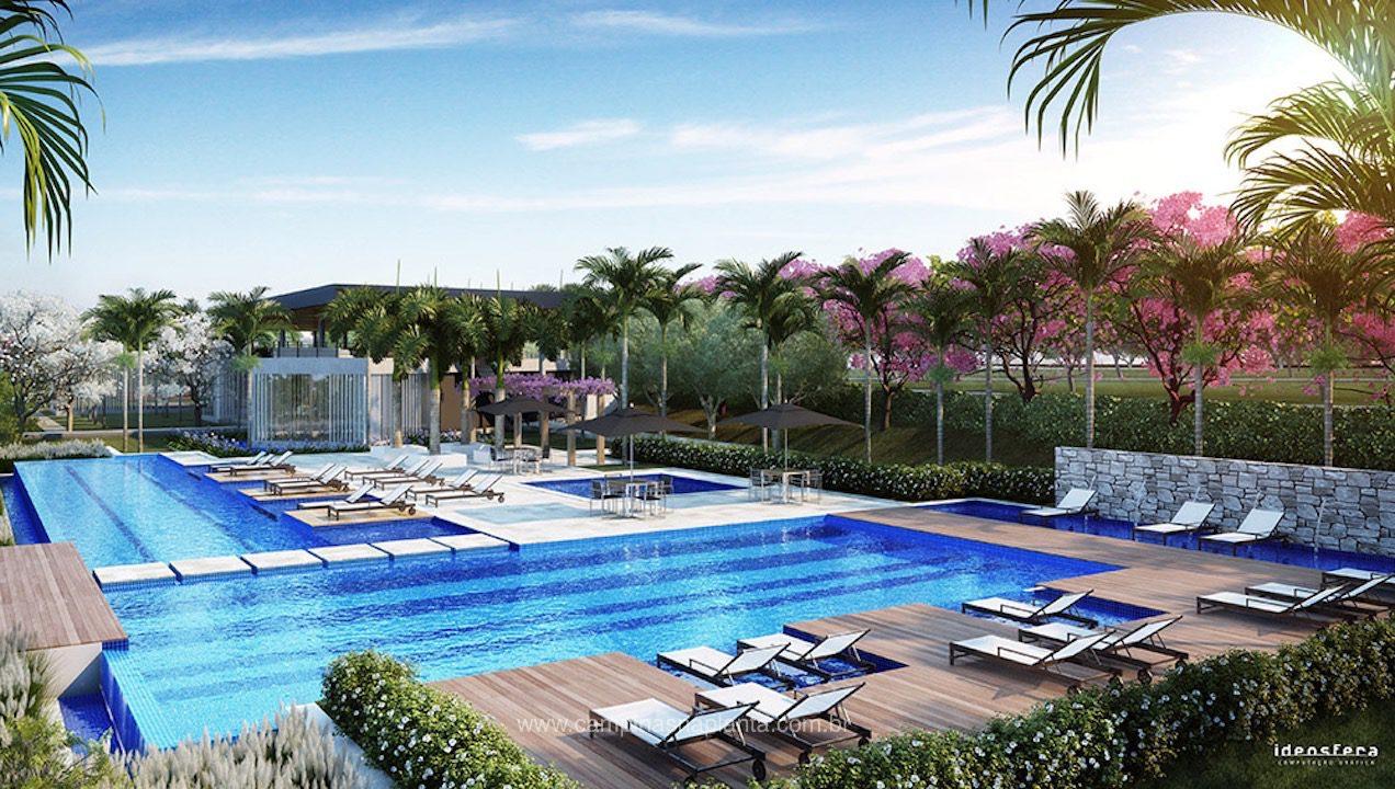 Tamboré Jaguariúna espaço das piscinas