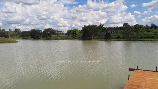 Foto do lago (leste)