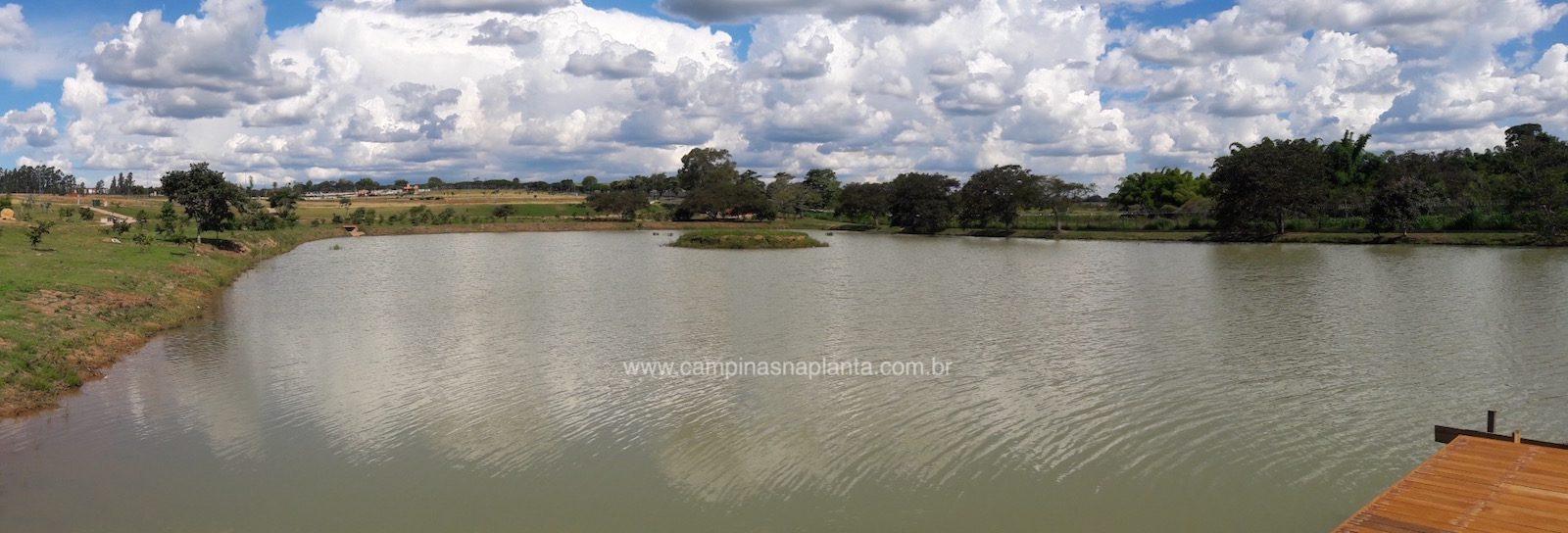 Tamboré Jaguariúna foto panorâmica do lago