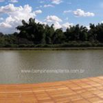 Tamboré Jaguariúna foto c/ panorama 180º do lago