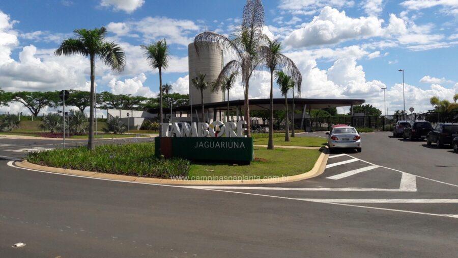 Tamboré Jaguariúna Foto da portaria