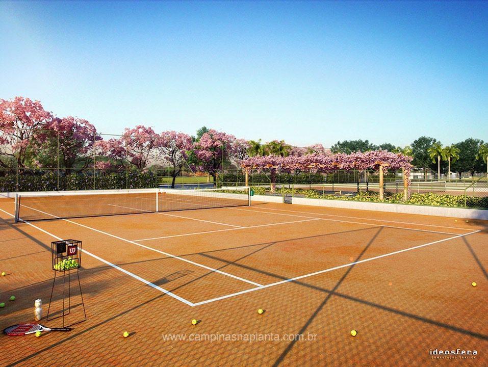 Tamboré Jaguariúna quadra de tênis