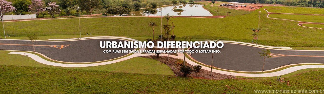 Urbanismo diferenciado do Tamboré Jaguariúna